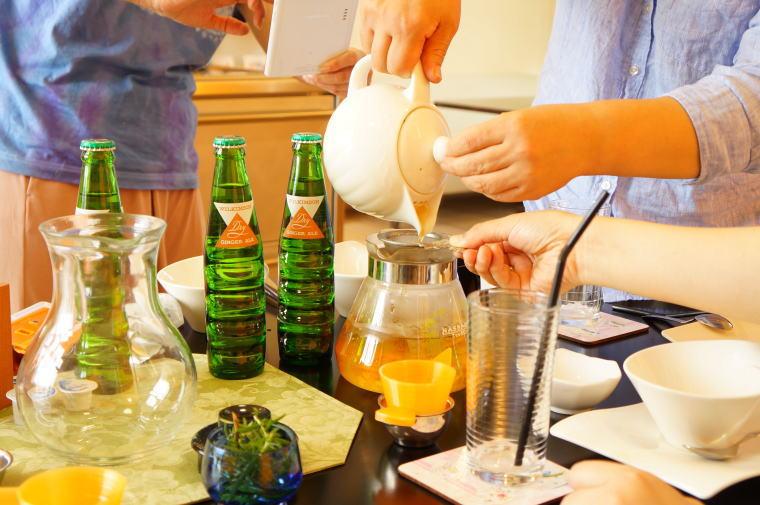 2016年8月の富山紅茶の会~夏のアレンジティ