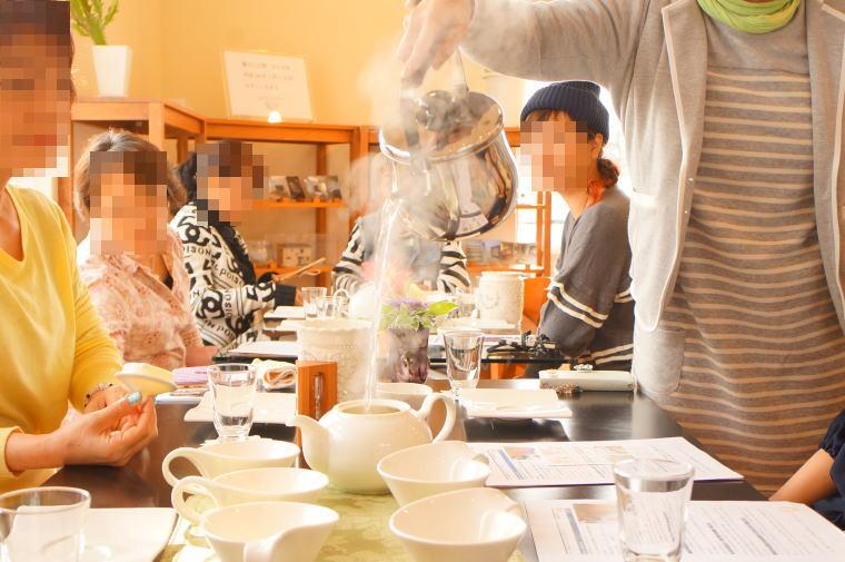 2017年1月の富山紅茶の会~紅茶とガレット・デ・ロワ。