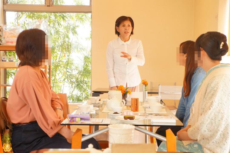 2017年4月の富山紅茶の会~桜のコンフィチュール。