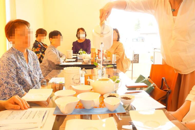 2017年5月の富山紅茶の会~薔薇の紅茶とチーズケーキ