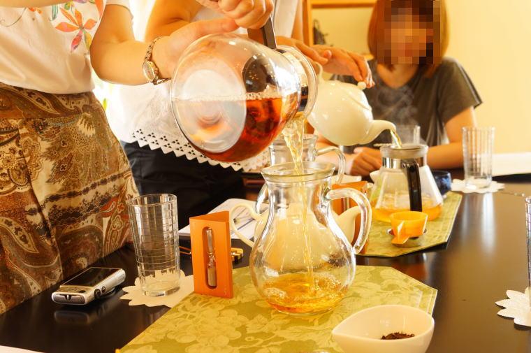 2017年8月の富山紅茶の会~紫蘇のハーブアイスティー