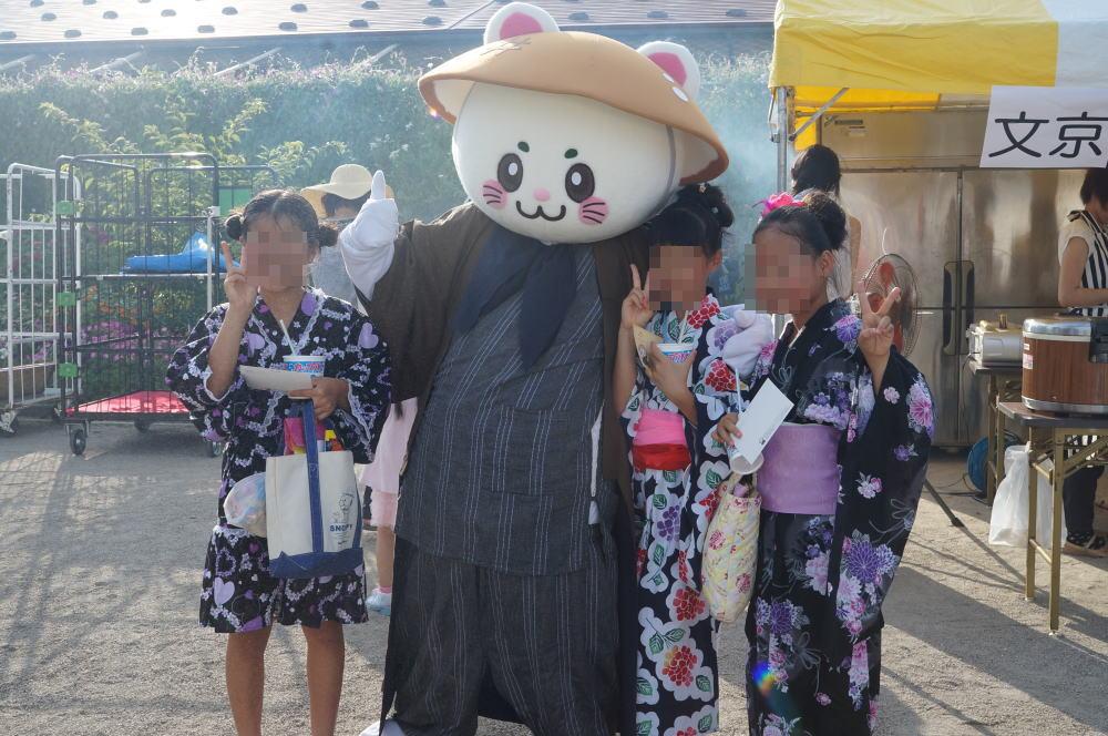 富山市文京町の町内会お祭り